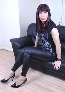 New shiny leggings...