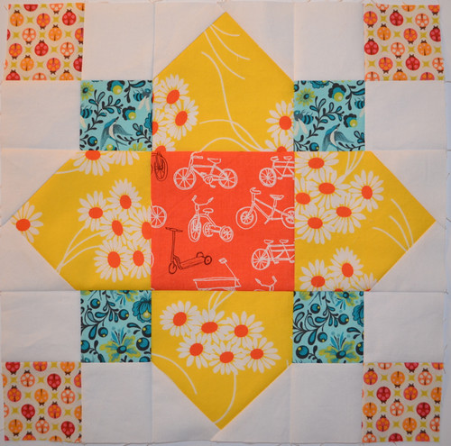 Quatrefoil Block for Jennie