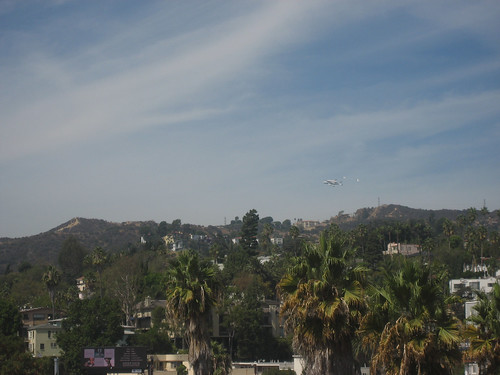 the shuttle and the hills