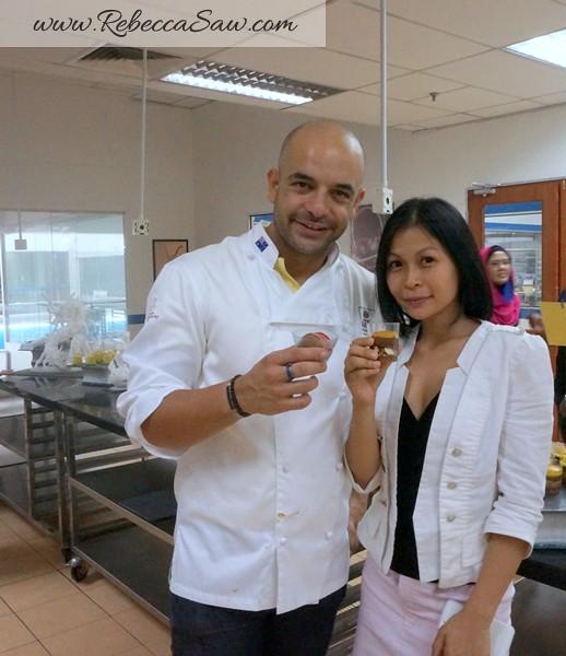 Chef Adriano Zumbo in KL malaysia- rebecca saw