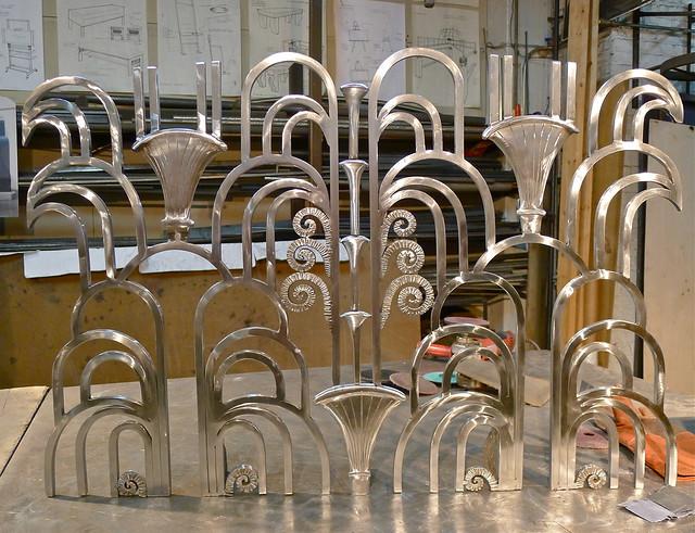Art Deco Fireplace Screen Awaiting More Polishing Flickr Photo Sharing