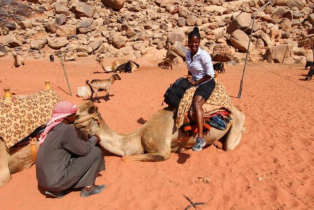 Jordan: Camel Ride in Wadi Rum
