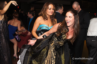 Elexis Monroe dancing with Samantha Ryan