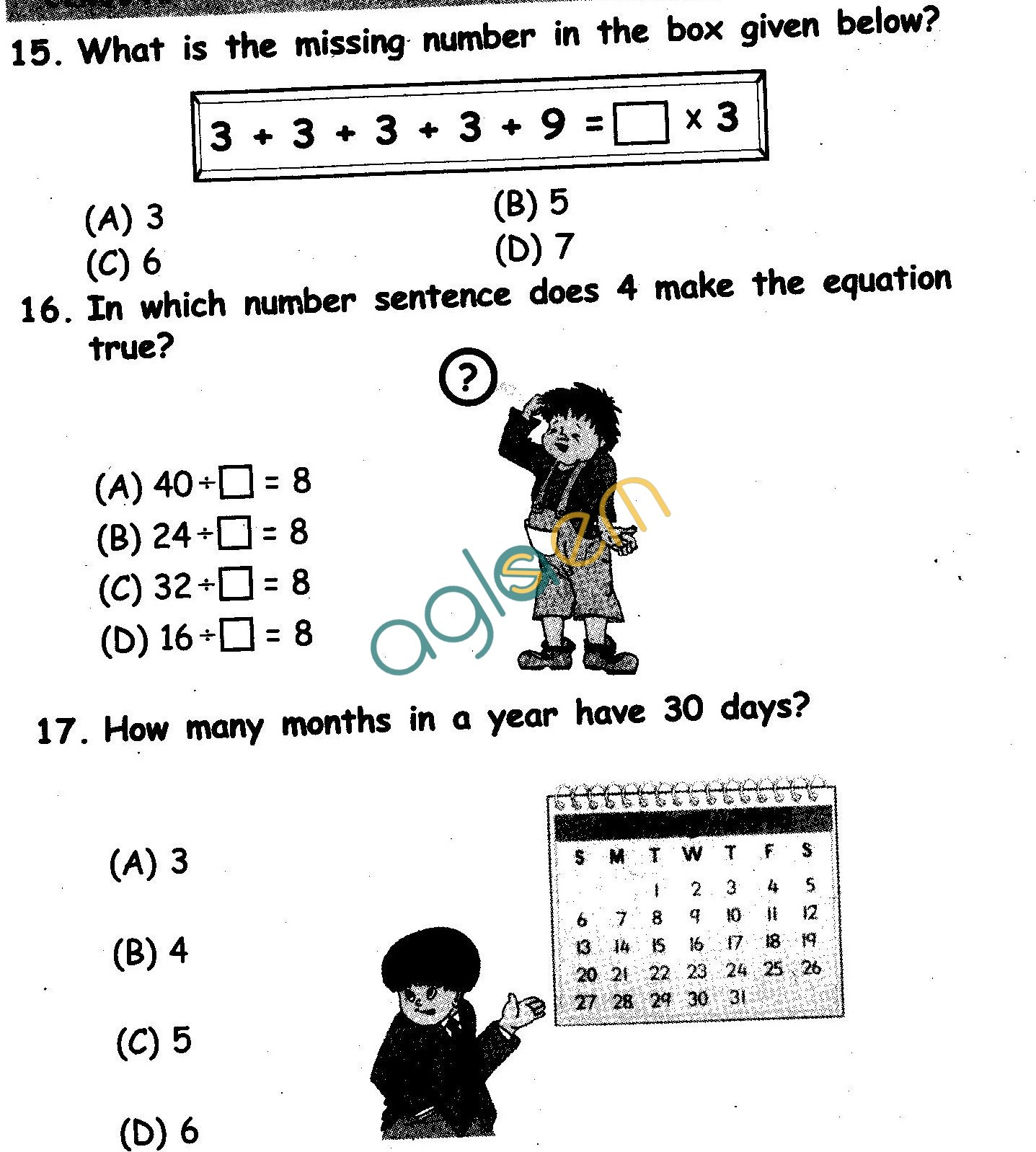 NSTSE 2010 Class II Question Paper with Answers Maths