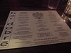 Bar Dobre menu by kevincrumbs