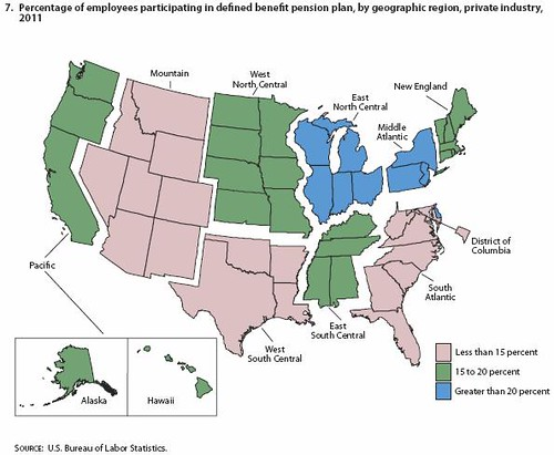 Pension Geography