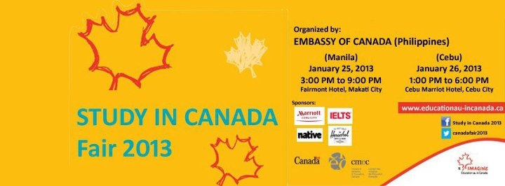 Study in Canada Fair 2013