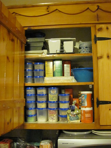 Cupboard after Tupperware, phase 2