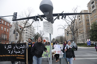 Marching Against Drones