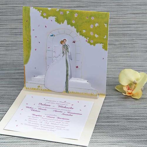 invitatii nunta 3D by InvitatiiNunta