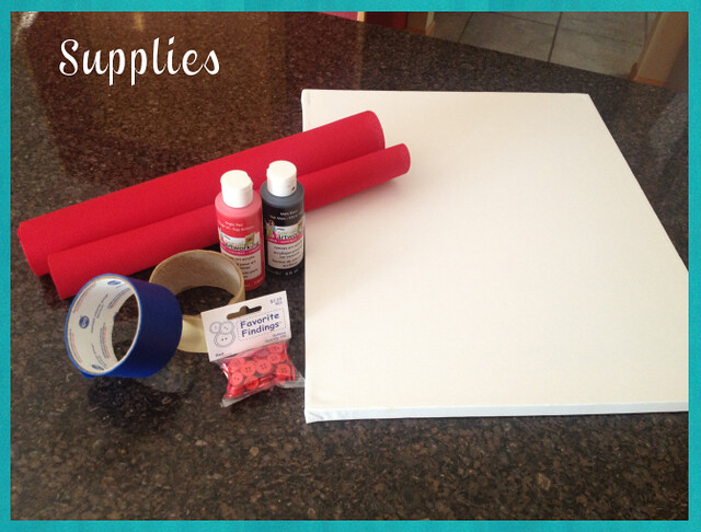 Valentine's Day Craft - Supplies