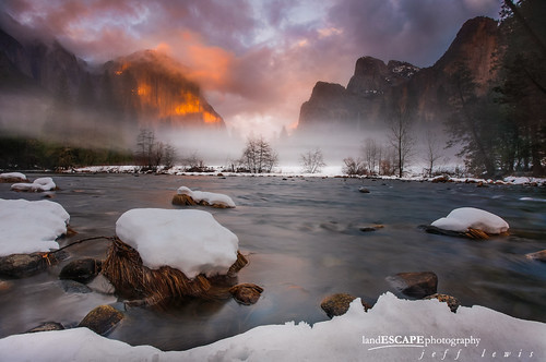 A Midwinter Night's Dream ~ Yosemite Valley