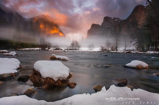 A Midwinter Night's Dream ~ Yosemite Valley