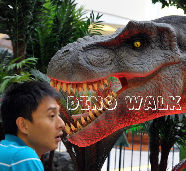 Custom Design Animatronic Dinosaur