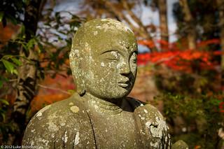 Buddha image in Eikando Temple, Kyoto