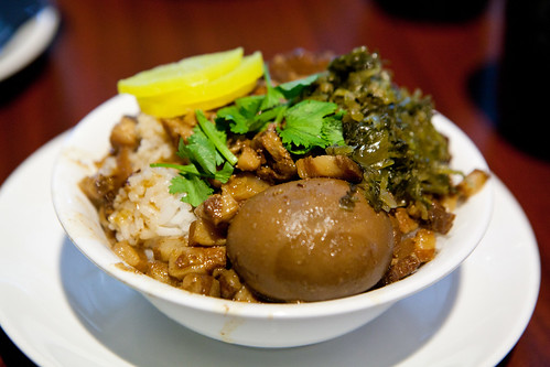 Lu Rou Fan (Minced braised pork on rice; 滷肉飯)