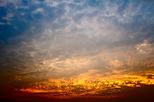 [フリー画像素材] 自然風景, 空, 雲, 朝焼け・夕焼け ID:201302100600