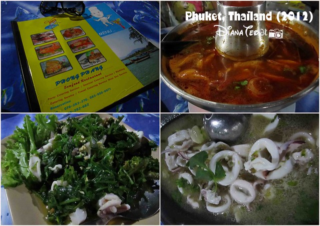 Phuket Day 1 Dinner - Phong Phang Seafood Restaurant