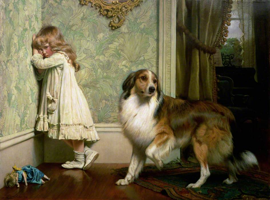 A Special Pleader by Charles Burton Barber, 1893