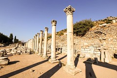 Ephesus was a Greek city founded on the Ionian Sea in the 10th Century BC. #travel #turkey #turkeyphotooftheday