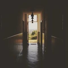Hallway to paradise. Such a beautiful view ❤ - #insta #instagram #igdaily #igers #netherlands #southlimburg #zuidlimburg #maastricht #limburg #iglimburg #sun #shadow #darkhallway #lightattheendofthetunnel #beautiful #nature #pietersberg #saintpieter