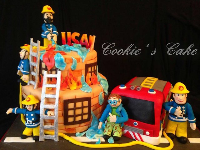 Fireman Cake by Nehal Abd El Salam of Cookie 's Cake