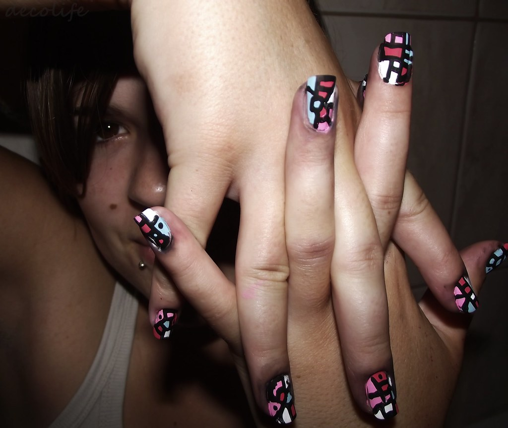 Nail Art E Vamos Na Caminhada De Colorir Tudo Video Flickr