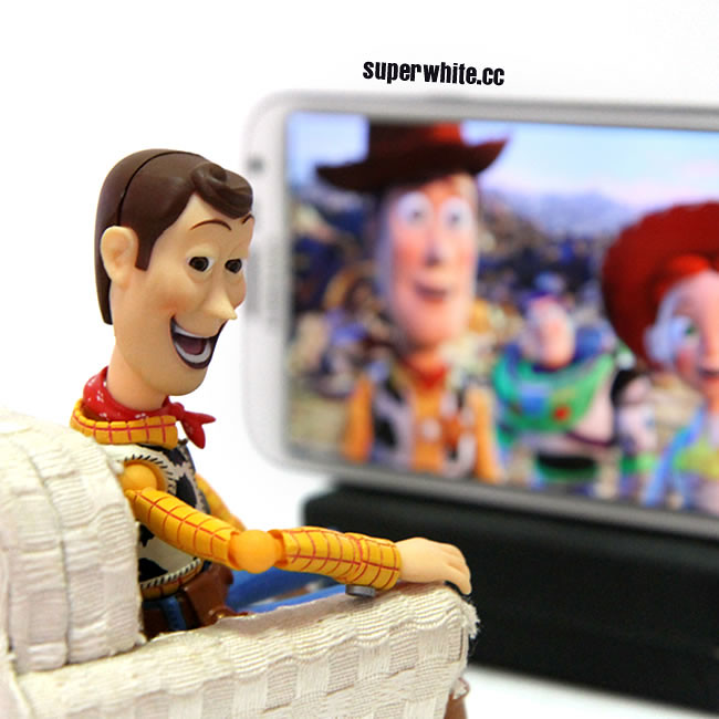 Watch Toy Story trilogy on Note2