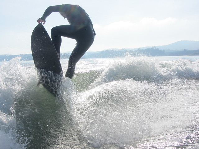 Early December Wakesurfing 290