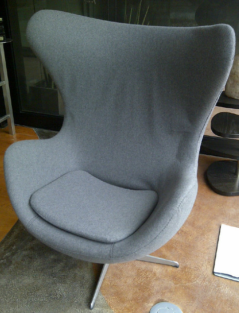 Arne Jacobsen Egg Chair Identification