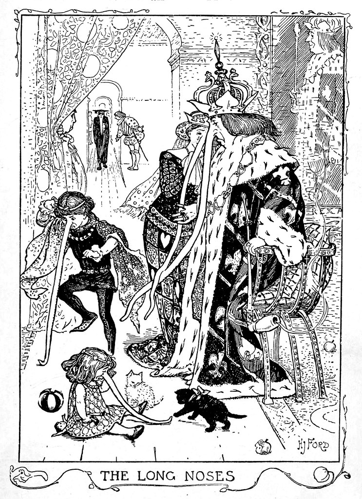 Henry Justice Ford - The crimson fairy book, edited by Andrew Lang, 1903 (illustration 6)