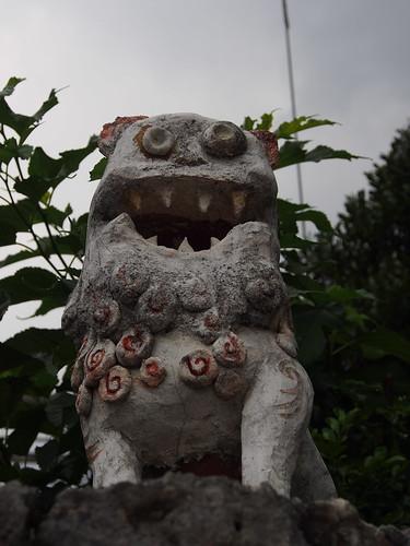 沖縄県立芸術大学 シーサー