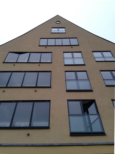 Windows on a Building by the Rhine