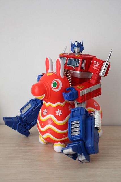 [FamilyMart] Molly X Rody(TAIWAN only) X MP-10 Optimus Prime