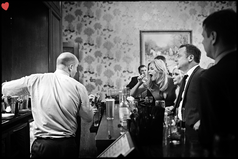 Wedding Photograph of the Week - The Bar...