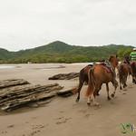 Horses on the Beach - Morgan's Rock, Nicaragua