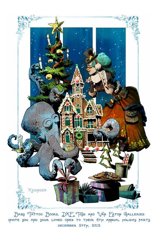 Holiday Party print by Brian Kesinger 2012