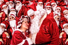 [Free Images] Events, Christmas, Santa Claus ID:201212190800