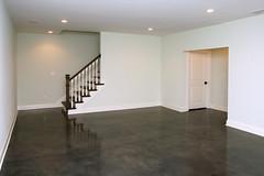 Lower level basement in Louisville KY