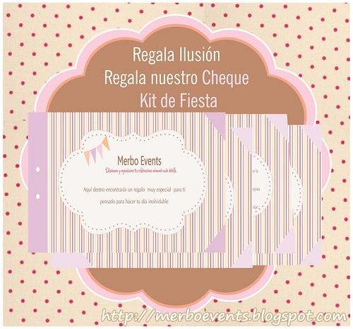 Cheque Regalo. Merbo Events3