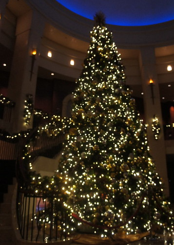 Intercontinental Hotel Christmas Tree