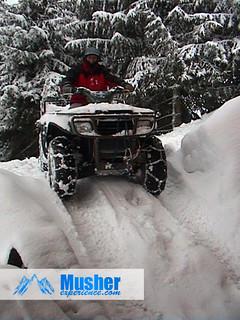 Quad neige