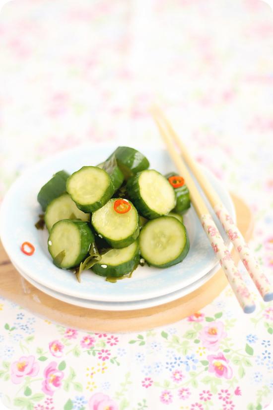 Cucumber Tsukemono ピリからきゅうりの漬物