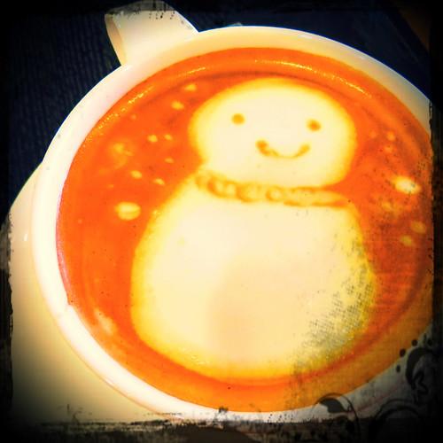 Snowman drink