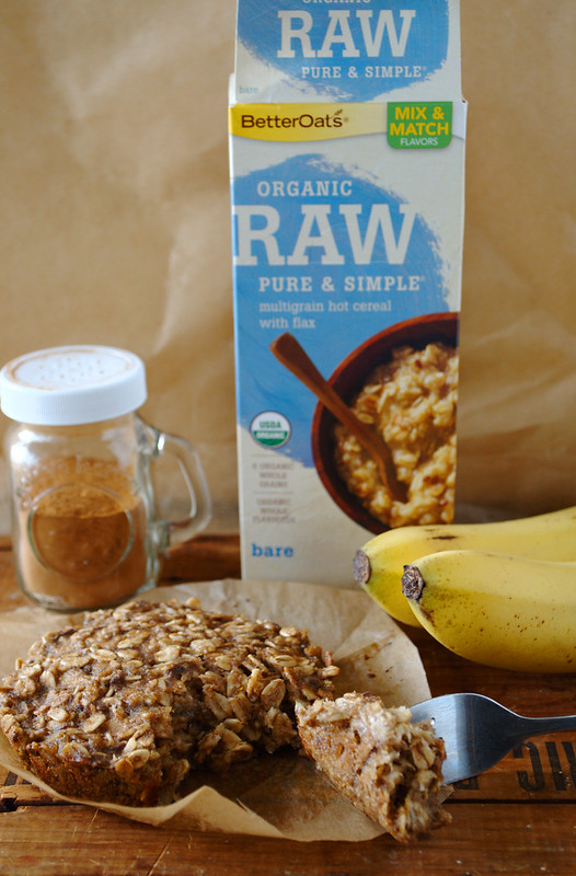 Banana Nut Oatmeal Bake
