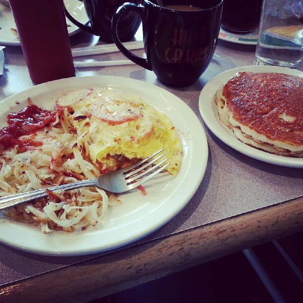 Breakfast the other day....