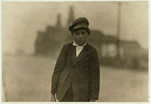 Hine, Lewis (1874-1940) - 1910c. Carrying Milk, Marion, Indiana