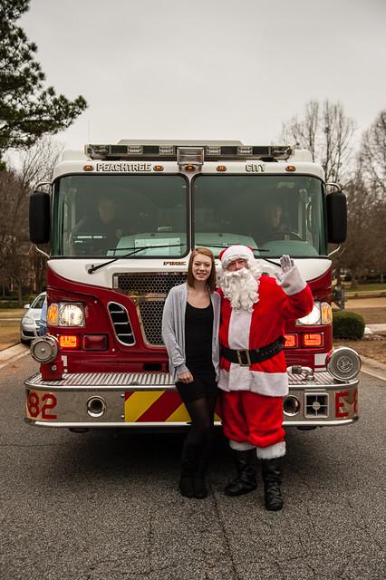 Lindsey&Santa