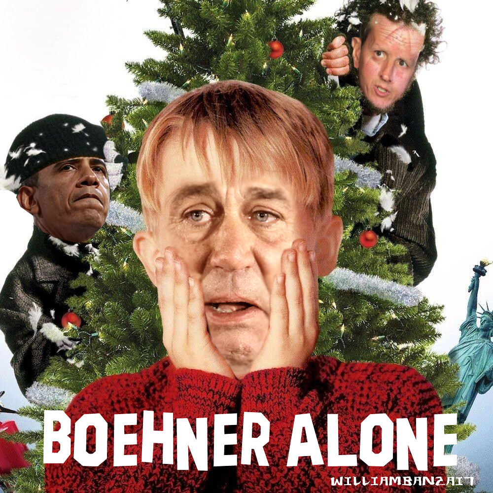 BOEHNER ALONE