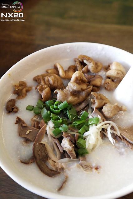 honkee porridge pork innard